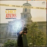 CHET ATKINS Our Man in Nashville RCA Victor LP NM/NM LPM-2616 MONO FAST USA SHIP