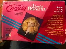 Richard Caruso Molecular Hairsetter Traveler Steam Curlers Hot Rollers Unused