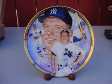 """Mickey Mantle 1992 Hamilton Collection """"Best Of Baseball"""" Collectors Plate"""