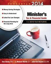Zondervan 2014 Minister's Tax and Financial Guide: For 2013 Tax Returns (Zonderv