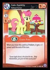 3x Gala Appleby, Refined Farmer - 21 - My Little Pony Premiere Edition MLP CCG