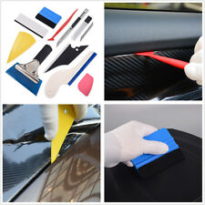10 x Universal Car Foil Tools Body Wrapping Window Tint Vinyl Film Squeegee Kit