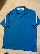 Nike Golf Men's Dri-fit Teal Blue Polo! Sz. Xl!