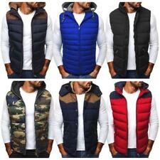 Men's Nylon Hooded bodywarmer Coats & Jackets