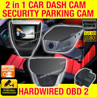 Dashcam  In Car Vehicle Security Camera Parking Guard Hardwired Time Lapse