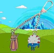Adventure Time Princess Bubblegum & Peppermint Butler Key chain / Keyring
