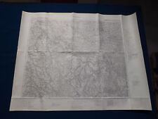 Karte des Deutschen Reiches Großblatt 101 Umgebung von Dresden, von 1945