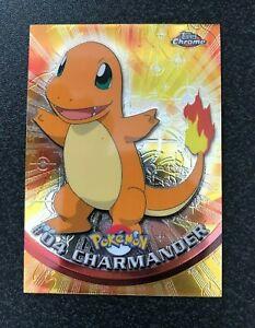 Pokemon Topps Chrome Holo #04 Charmander Mint/NM