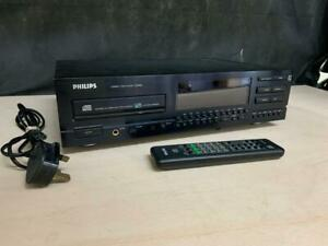 PHILIPS CD850/05B MK1 CD PLAYER WITH REMOTE 240V 50HZ 18W | BUY WITH CONFIDENCE!