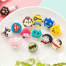 4 PCS USB CHARGER CABLE SAVER PROTECTOR CARTOON APPLE IPHONE SAMSUNG HTC LG