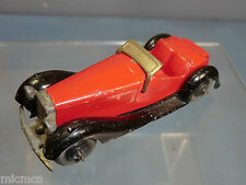 DINKY TOYS MODEL No.36e BRITISH SALMSON TWO-SEATER SPORTS CAR  (Red Version )