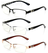 7638ab620de Half Rim Men Women DG Eyewear Clear Lens Frame Eye Glasses Designer Fashion  Nerd
