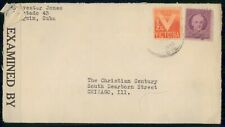 Mayfairstamps HABANA COMMERCIAL 1942 COVER CENSORED wwh 96287