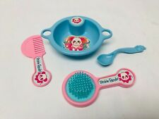 Pinkie Panda Set, Shillman Toys 1987, Feeding Bowl Spoon, Brush Comb, Baby care