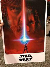 Star Wars Celebration 8 Orlando 2017 The Last Jedi Poster Teaser 13x19 IN HAND!!