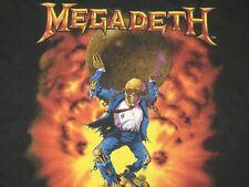 Megadeth 1991 shirt thrash metal vintage (no overkill forbidden laaz rockit anth