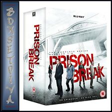 PRISON BREAK - COMPLETE SEASONS 1 2 3 4 & 5   ***BRAND NEW BLU-RAY BOXSET***