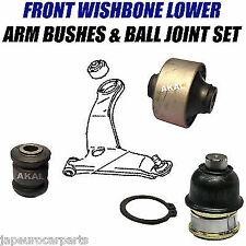 For MITSUBISHI SPACE WAGON 98-03 LOWER CONTROL ARM BUSHES & BALL JOINT