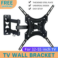 Full Motion TV Wall Mount Bracket Swivel Tilt 17 32 37 40 42 50 55 Inch LED LCD