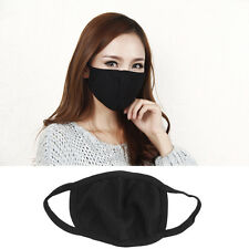 2x Mode Schwarz Mund Maske Gesichtsmaske Mundschutz Masken Anti-Staub Radfahren