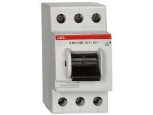 ABB Hauptschalter 63A 3polig  E463/3-KB 3polig 400V/ 63A NEU