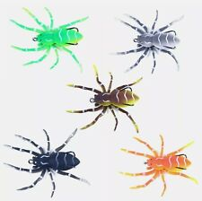 Realistic Spider Topwater Bait Soft Rubber Fishing Tackle weedless Lure