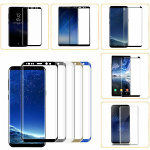 Galaxy Note 8 S8 S8 Plus Curved Tempered Glass Full Cover Screen Protector