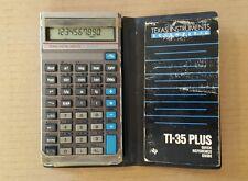 Vintage Texas Instruments Ti-35 Plus Scientific Calculator