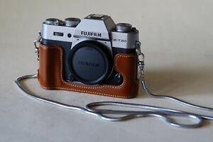 Fujifilm X-T20 Silver Body 24.3MP Excellent NR