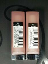 (2) Maybelline ColorSensational Lipstick # 910 Bare All color Discontinued