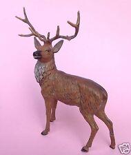 Bronze-Kunst: Regule Skulptur Figur 10-Ender Hirsch Wild Jagd Jäger Wiener?~1900