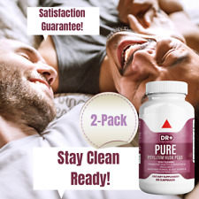 Colon Cleanse & Stay Clean with Psyllium Husk Compare to Pure for Men - 2-Pack