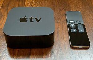 Apple TV HD 64GB, 4th Generation Model A1625, with Siri Remote, black
