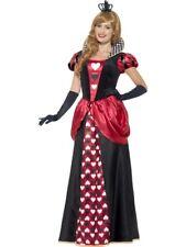 Royal Petit Cœur Robe Taille XL Femmes Carnaval Reine D'Occasion 45489
