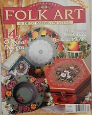 Australian Folk Art & Decorative Painting  magazine Vol 10 No 3 Part 2