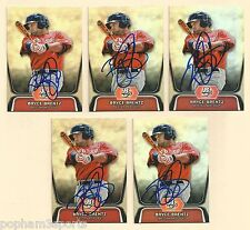 BRYCE BRENTZ Signed/Autographed 2012 BOWMAN PLATINUM CARD Boston Red Sox w/COA