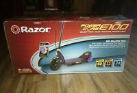 Razor Power Core E100 Electric Hub Motor Scooter, Purple (CHRISTMAS IS COMING)