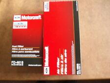 NEW 11-16 6.7L Powerstroke Diesel Truck Genuine Motorcraft Air Fuel Filter Kit