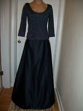 2 PC FORMAL DRESS EVENING BALL GOWN PROM PARTY COCTAIL WEDDING BRIDESMAID SZ 12