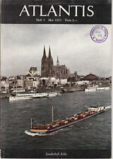 ATLANTIS Heft 1-12-1955. Länder-Völker-Reisen-Hürlimann