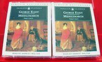 George Eliot Middlemarch 4-Tape Audio Book Harriet Walter Penguin