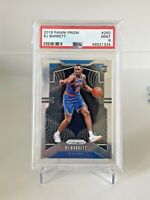 2019-20 PANINI PRIZM RJ BARRETT PSA 9 BASE RC #250 MINT NEW YORK KNICKS ROOKIE