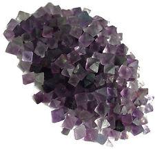 1 lb  Fluorite Octahedron Purple Crystals - MINI - Bulk Lot - FLUOCTMNPU1LB