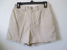 "Womens The Limited 6 Khaki Shorts Flat Front Classic Rise W 28.5"", L 3.25"", R 12"