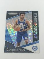 2017-18 Panini Prizm Emergent Fast Break Markelle Fultz Rookie RC Orlando Magic