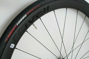 ROVAL C38 wheelset, DT SWISS 350, with Specialized Turbo 26mm tyres