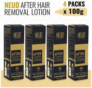 NEUD After Hair Removal Lotion for Skin Care in Men & Women 4 Packs-AYO
