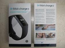 FitBit Charge 3 Fitnesstracker - Grau/Schwarz