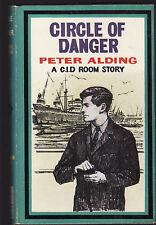 PETER ALDING - CIRCLE OF DANGER : A C.I.D. ROOM STORY  FIRST EDITION 1968