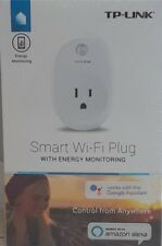 TP Link HS110 Wi Fi Smart Outlet Plug with Energy Monitoring